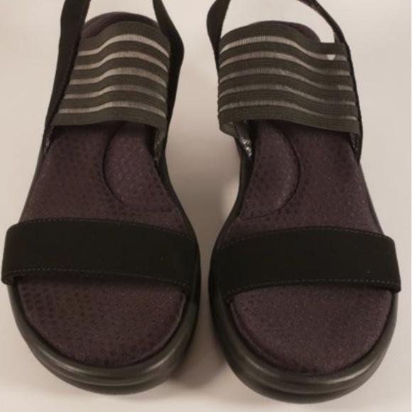 66bc96efe387 Skechers Rumbler Sci Fi Wedge Sandals